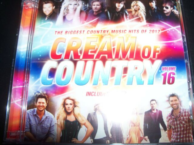 Cream of Country Vol 16 The Biggest Country Music Hits Audio CD