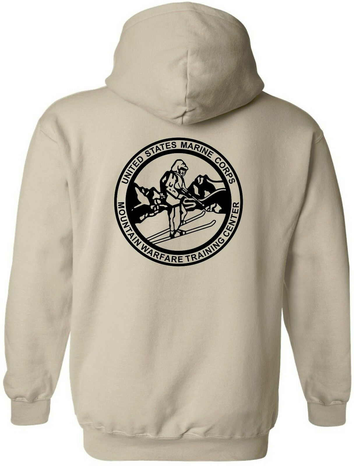 USMC United States Marine Corps - MWTC Mountain Warfare Training Center Hoodie