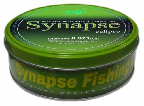 Katran Fishing Line Synapse Eclipse Carp 15lb Diameter 0.309 Low Memory 1000m