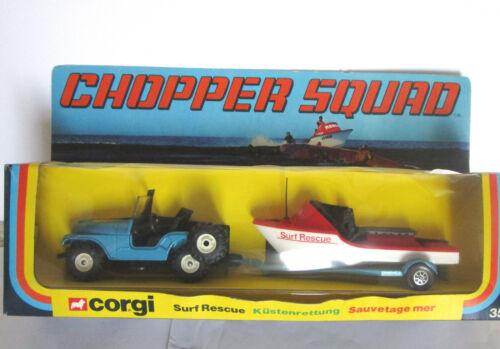 Corgi Surf Rescue # 35    2 Pack Vintage  chopper Squad