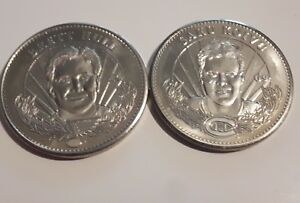2-1996-97-Pinnacle-Mint-Collection-Silver-coins-Hull-Koivu