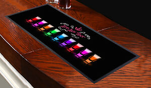 Personalised-Shots-Glass-Bar-Towel-ANY-NAME-TEXT-Pub-Runner-Cocktail-Party-Mat