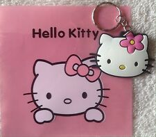 Hello Kitty Adorable Keychain Key Chain PVC Rubber FOB with Metal Ring