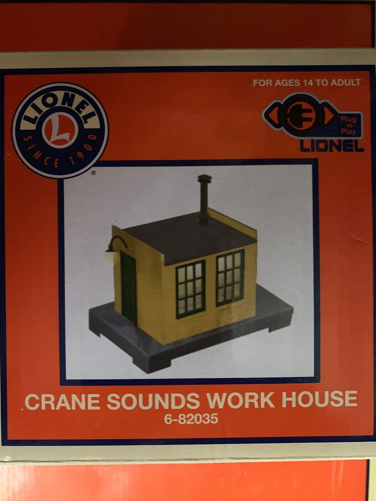 LIONEL OPERATING CRANE SOUNDS WORK HOUSE ACCESSORY NEW FITS MTH GANTRY CAR BURRO