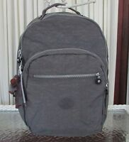 Kipling Seoul Large Backpack Laptop Protection Dusty Grey Bp3020