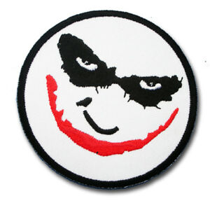 Details About Joker Devil Face Patch Iron On Demon Batman Harley Quinn Dc Comic Cartoon