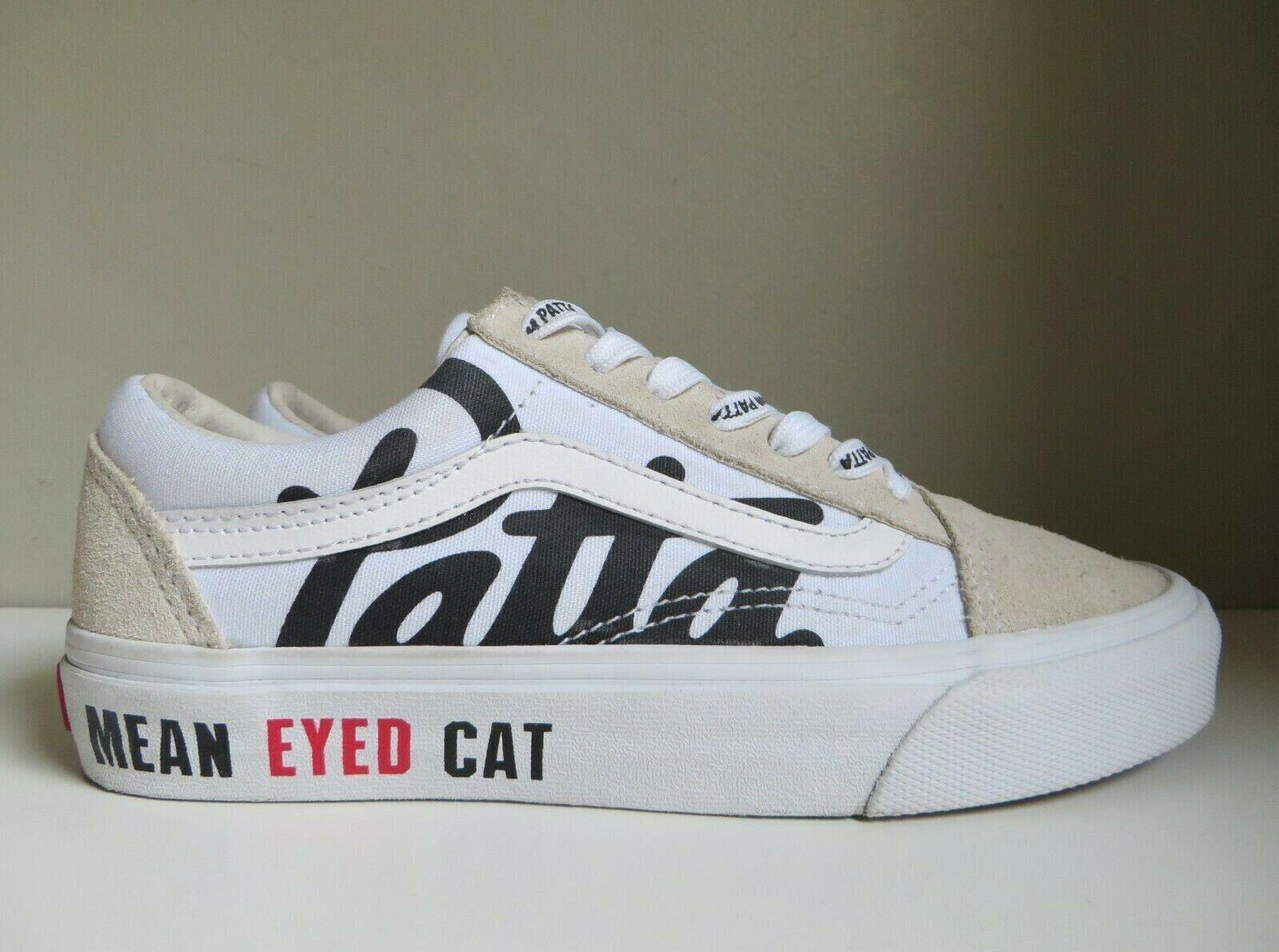 Patta X VANS Old Skool Mean Eyed Cat