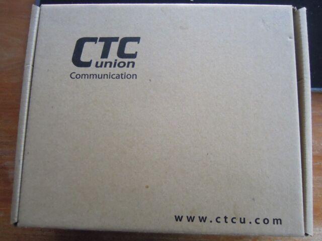 CTC Union T1 to multimode fiber optic media connector modem FIB1-1000TS