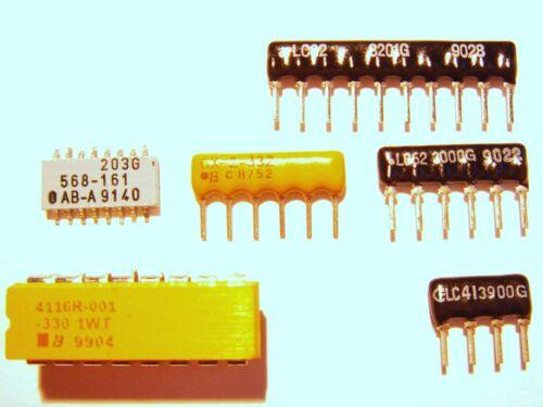 5 x resistenza pull up Pull Down microprocessore selezione della rete