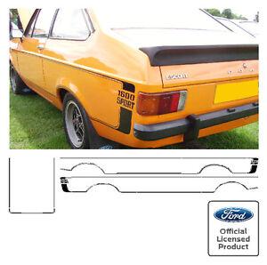Ford Escort Mk2 1300 Sport 1600 Sport Stripe Kit Decals Stickers 1 3 1 6 Stripes Ebay