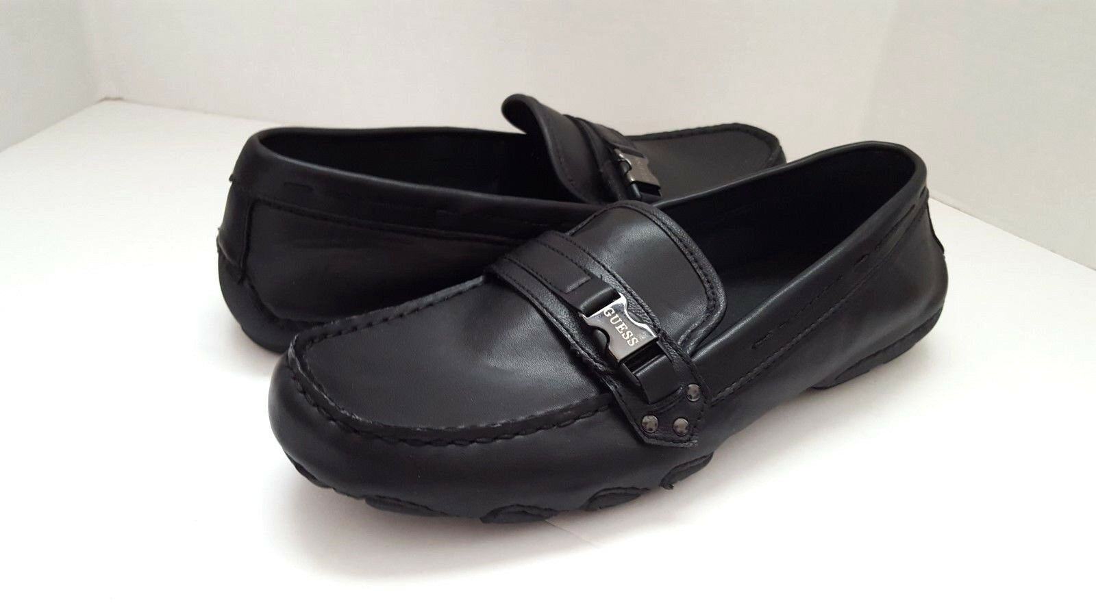 New Guess Men's Name GMLEN Black Slip On Shoes Sz 9M 9M Sz 99e5c1