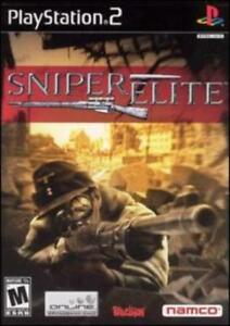 Sniper Elite PS2 2 PLAYSTATION Berlin 1945 shooter marksman