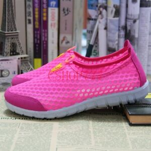 Fashion Womens Casual Athletic Shoes Sport Walking Running Hollow Out Sneakers 8