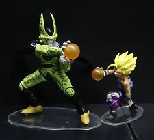 "lot OF 2  DragonBall Z DBZ FIGURE CELL SS GOHAN FIGHTING PVC Statue figure 4""-7"""
