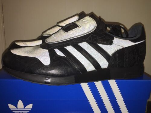 Adidas Dead Stock micropacer Stealth Royaume-Uni Noir Taille 9