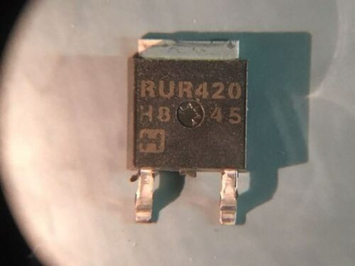 LOT OF 75 NEW HARRIS RURD420S 4A 200V TO252 DIODE
