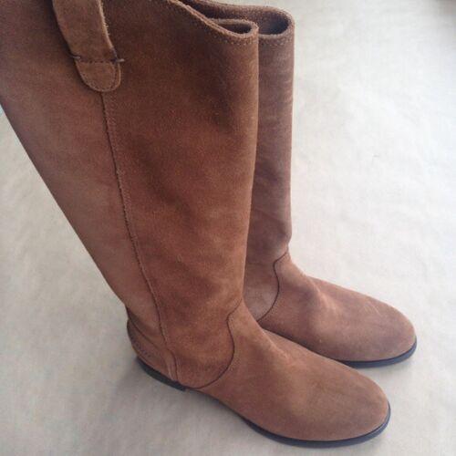 97e2f33e664e9f chaussures Uk genou 8 Weston enfiler Nous À 6 Archive € en Madewell plat  daim de ...