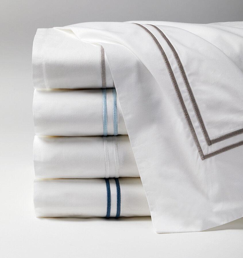 Sferra Grande Hotel Collection Italian Long-staple Cotton Percale Flat sheet