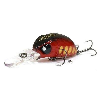 Lucky John Pro Series Haira Tiny LBF 44 fishing lures range of colors
