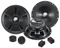 (2) 6.5 Component Speakers.pair.6 1/2.woofers.w/ Tweeters.full Range Sound