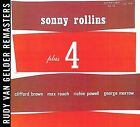 Sonny Rollins Plus 4 [RVG Remasters] by Sonny Rollins (CD, Feb-2007, Prestige)
