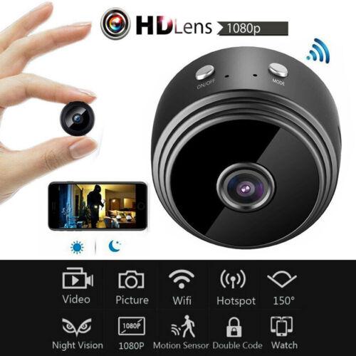 1080P Mini HD Wifi IP Kamera WLAN Funk Nachtsicht Webcam Überwachungskamera