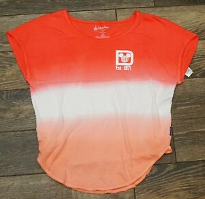 bc04ef5b NEW Disney Parks Walt Disney World Short Sleeve Spirit Jersey Coral ...