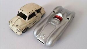 Cko-Western-Germany-50s-Tin-Toy-Cars-Mercedes-W196-Fiat-600