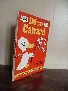 Diccionario Pato N º Special de La Pato Marcas De Diciembre 1972