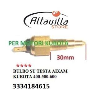 BULBO-INDICATORE-TEMPERATURA-ACQUA-AIXAM-KUBOTA-402-400-721-SCOUTY-CITY-CROSSLIN