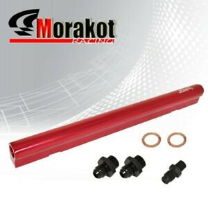 Details about Jdm Sport VW 1 8T MK4 20V Engine Turbo Aluminum Top Feed Fuel  Rail Kits Red