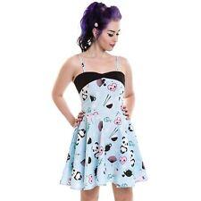 cupcake cult tea part dress by poizen cute pandas lolita goth SMall UK 8 - 10 SA