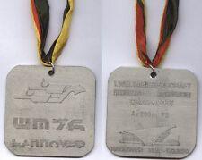 Orig.Silbermedaille    WM im Flossenschwimmen HANNOVER 1976 - 4 x 200 m  !!  TOP