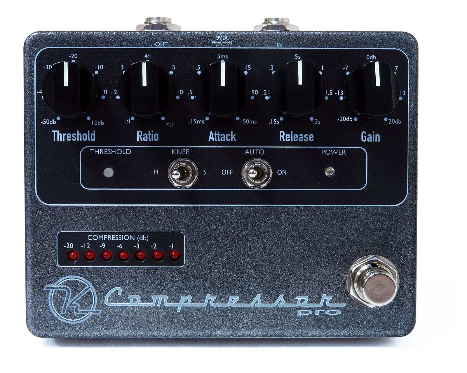 Keeley Compressor Pro Professional Studio Guitar Effect Pedal