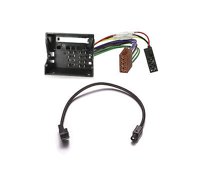 CABLE ADAPTATEUR FAKRA ISO DIN ANTENNE AUTORADIO POUR CITROEN SYNERGIE  C1872
