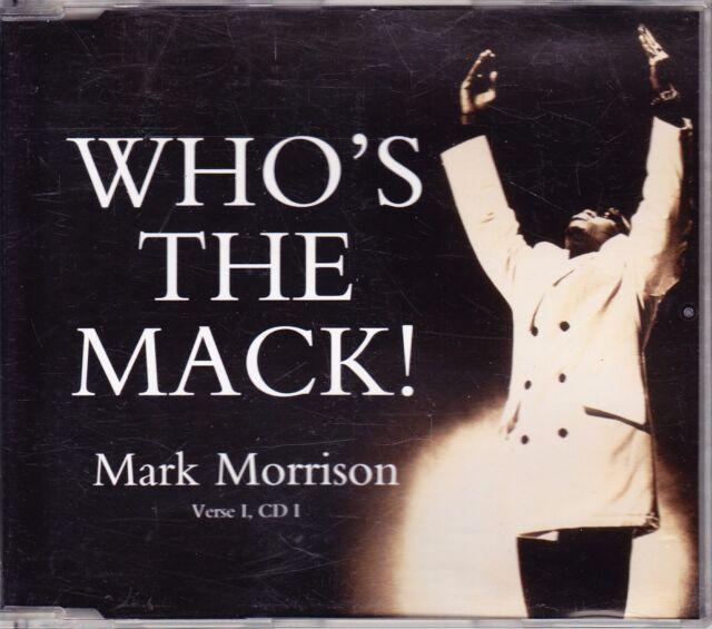 CD Mark Morrison - Who´s the Mack! - Maxi-CD