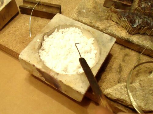 Silberlot 5 Gramm,für Schmuck {50/%Ag Weich} cd,frei als Draht, Silver Solder