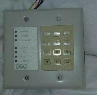 DSC PC1000RK Alarm Keypad Classic Series Flush Style   eBay