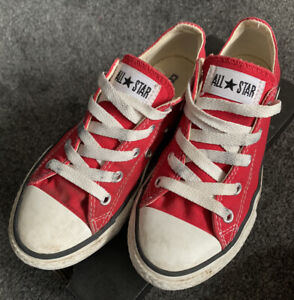 Converse-Youth-All-Stars-Trainers-Red-UK-13-Eur-31-5