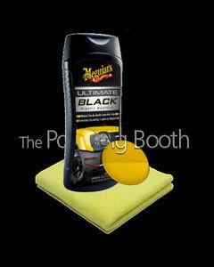 Meguiars-Ultimate-Plastique-Noir-Restaurateur-avec-Microfibre-et-Application