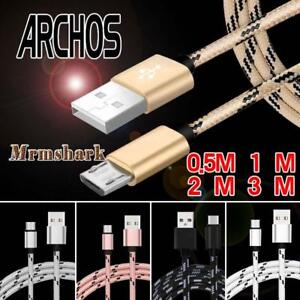 Micro USB Charging Data Sync Charger Cable For Argos Alba 7 Inch Android Tablet