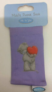ME 2 U PURPLE MOBILE/CAMERA/<wbr/>I-POD SOCK COVER/PROTECTO<wbr/>R CHRISTMAS STOCKING FILLER
