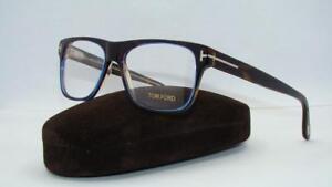 Tom-Ford-TF-5312-055-Havana-amp-Blue-Org-Case-Glasses-Frames-Eyeglasses-Size-54