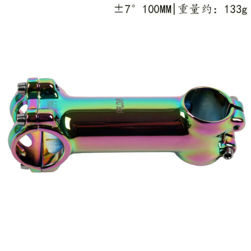 Mountain Road Bike Stems Rainbow 7 ° 60-110 MM aluminum Stem