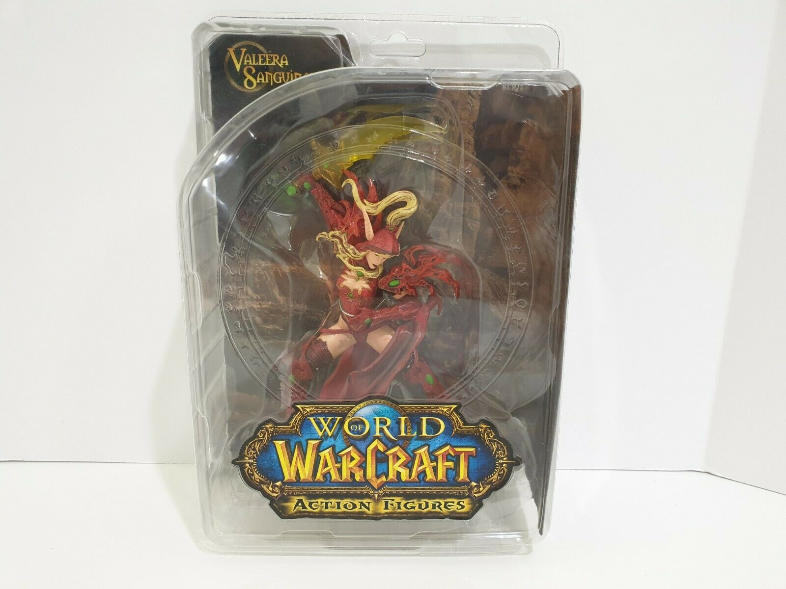 DC Comic World of Warcraft Series 1 Valeera Sanguinar Blood Elf Rogue