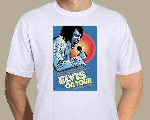 Elvis Presley - US On Tour promotional poster on T-shirt