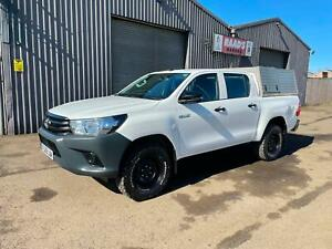 2018 (68) Toyota Hilux Active 2.4D-4D Double Cab 4x4 *CANOPY * TOW BAR * LINER
