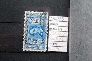 FRANCOBOLLI-ITALIA-REGNO-USATI-N-310-A56225