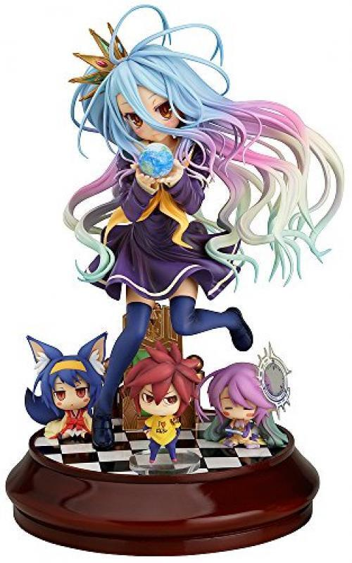NEW No Game No Life White 1 7 Scale Abs Pvc Painted Pvc Action Figure  B1 F S