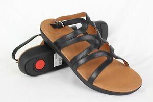 137c31843fa1 New Fitflop Women s Strata Gladiator Sandals 10m Black   L46-001-080 ...